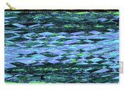 Blue Green Ocean Abstract Carry-all Pouch