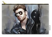 George Michael Singer Carry-all Pouch