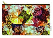Graffiti Style - Markings On Colors Carry-all Pouch