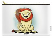 Lion Peaceful Reflection  Carry-all Pouch