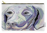 Weimaraner Denim Colors Carry-all Pouch
