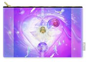 Heart Of The Violet Flame Carry-all Pouch