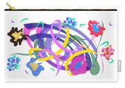 Abstract Garden #2 Carry-all Pouch by Bee-Bee Deigner