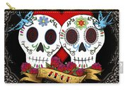 Love Skulls II Carry-all Pouch