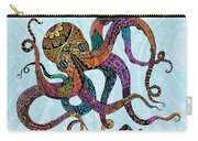 Electric Octopus Carry-all Pouch by Tammy Wetzel