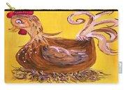 Hen Nesting Carry-all Pouch by Eloise Schneider