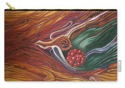 Abstraction With Red Balls Carry-all Pouch