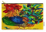 Plucky Rooster  Carry-all Pouch