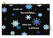Snowflakes 4 Carry-all Pouch