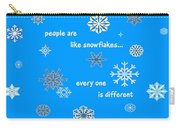 Snowflakes 5 Carry-all Pouch