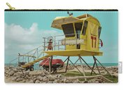T7 Lifeguard Station Kapukaulua Beach Paia Maui Hawaii Carry-all Pouch