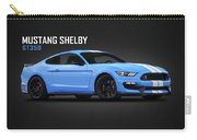 Mustang Shelby Gt350 Carry-all Pouch