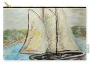On A Cloudy Day - Impressionist Art Carry-all Pouch
