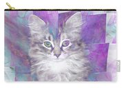 Fur Ball - Square Version Carry-all Pouch