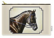 Dressage Horse - Concentration Carry-all Pouch by Crista Forest