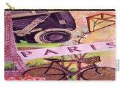 Paris  Carry-all Pouch by Eloise Schneider