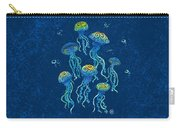 Swirly Jellyfish Carry-all Pouch