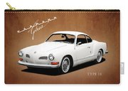 Vw Karmann Ghia Carry-all Pouch by Mark Rogan