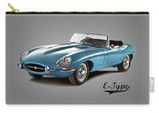 Jaguar E-type Carry-all Pouch by Mark Rogan