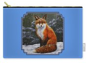 Snow Fox Carry-all Pouch