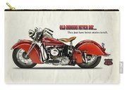 Old Indians Never Die Carry-all Pouch