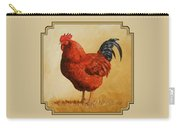 Rhode Island Red Rooster Carry-all Pouch
