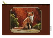 Sun Fox Carry-all Pouch
