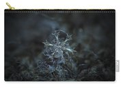 Snowflake Photo - Starlight Carry-all Pouch
