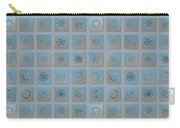 Snowflake Collage - Season 2013 Bright Crystals Carry-all Pouch
