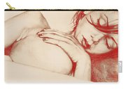 As Heaven Awaits - Red Carry-all Pouch