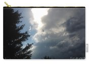 As The Clouds Move Across The Sky Carry-all Pouch