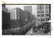 Asahel Curtis, 1874-1941, Draft Parade, Seattle Carry-all Pouch
