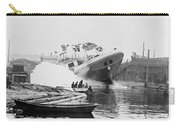 Asahel Curtis, 1874-1941, Launching Of The Minnie A. Cain Carry-all Pouch