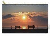 Asbury Park Boardwalk Sunrise Carry-all Pouch