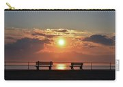 Asbury Park On The Boardwalk At Sunrise Carry-all Pouch