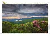 Asheville North Carolina Blue Ridge Parkway Thunderstorm Scenic Mountains Landscape Photography Carry-all Pouch
