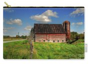 Ashtabula County Barn Carry-all Pouch by Tony  Bazidlo