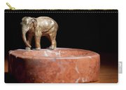 Ashtray With Elefant Carry-all Pouch