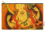 Asian Art Textile Carry-all Pouch