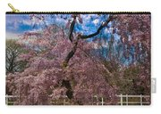 Asian Cherry In Blossom Carry-all Pouch