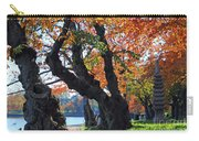 Asian Cherry Trees Of Fall Carry-all Pouch