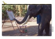 Asian Elephant Painting Picture Carry-all Pouch