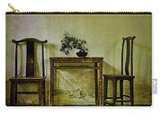 Asian Furniture And Bonsai Carry-all Pouch