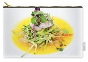 Asian Korean Fusion Fresh Prawn Salad Carry-all Pouch