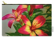 Asian Lilly Spring Time Carry-all Pouch