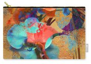 Asian Orchid Abstract Carry-all Pouch