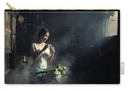 Asian People With Cooking, Living In Rural Countryside, Rural Th Carry-all Pouch