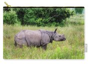 Asian Rhinoceros Carry-all Pouch