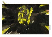 Asian Sunflower Carry-all Pouch