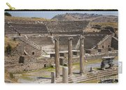 Asklepion Columns And Amphitheatre Carry-all Pouch